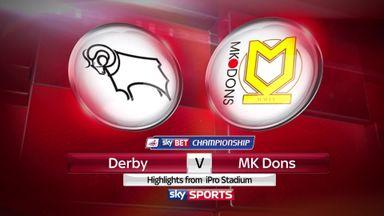 Derby 0-1 MK Dons