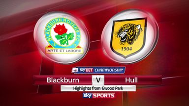 Blackburn 0-2 Hull