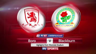 Middlesbrough 1-1 Blackburn