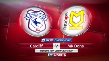 Cardiff 0-0 MK Dons