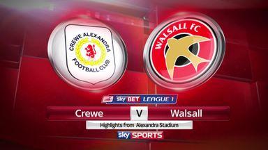 Crewe 1-1 Walsall