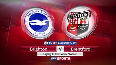 Brighton 3-0 Brentford