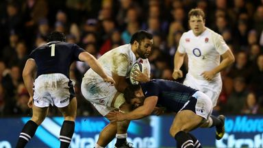 Eddie Jones says Billy Vunipola can become the world's best No 8