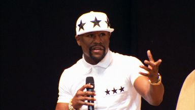 Mayweather is honest, open and amusing, says Johnny