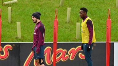 Jack Wilshere (left) and Danny Welbeck will attend Thursday's England get-together