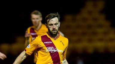 James McFadden could remain at Motherwell