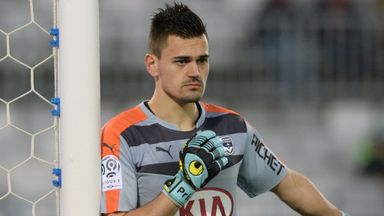 Jerome Prior will be replaced in goal by on-loan teenager Paul Bernardoni