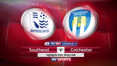 Southend 3-0 Colchester