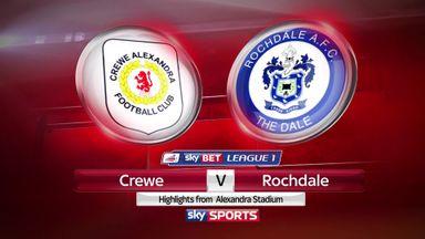 Crewe 2-0 Rochdale