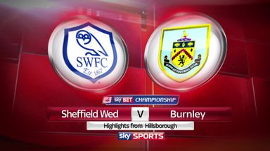Sheffield Wednesday 1-1 Burnley