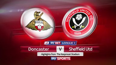 Doncaster 0-1 Sheffield United