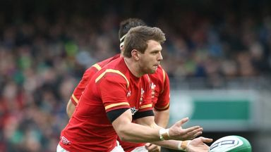 Dan Biggar has recovered from his ankle injury