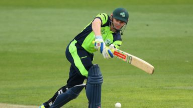Ireland are captained by William Porterfield