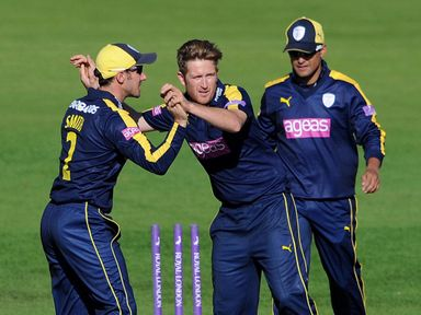 Hampshire's Liam Dawson will travel to India with England