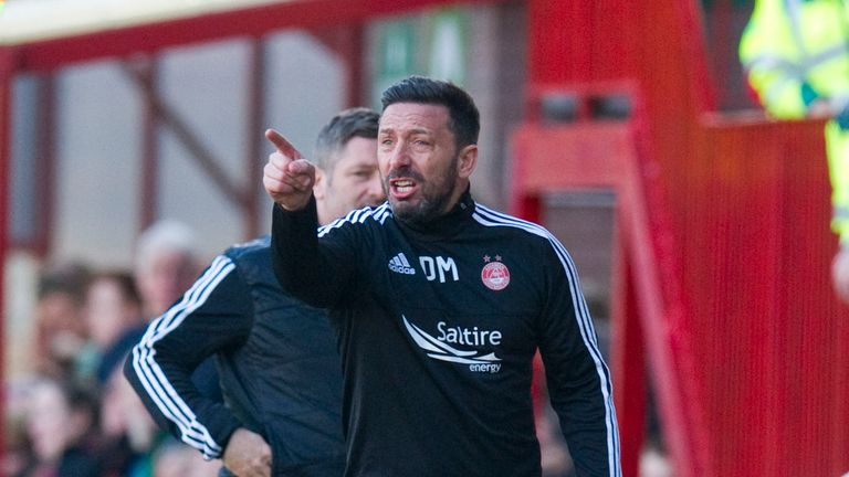 Aberdeen manager Derek McInnes turned down Sunderland after talks