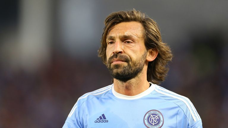 Andrea Pirlo's testimonial will be shown live on Sky Sports Premier League