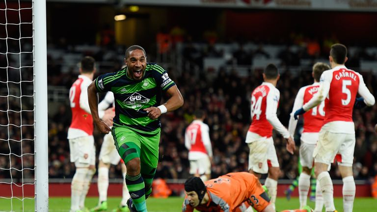 Ashley Williams celebrates scoring Swansea's winner
