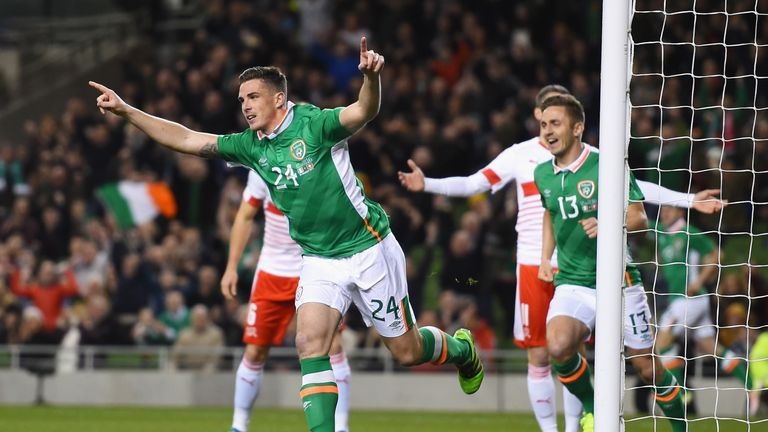 Ciaran Clark scored the winner for Republic of Ireland on Friday night