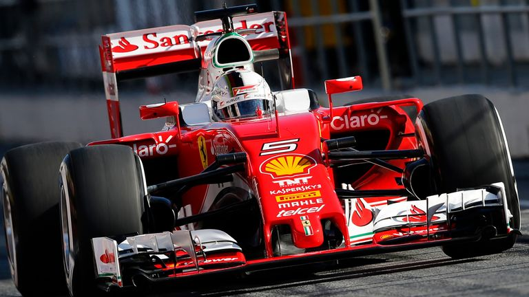 f1 2016 testing sebastian vettel tops final day for ferrari f1 news. Black Bedroom Furniture Sets. Home Design Ideas