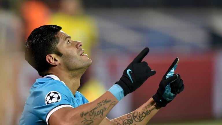 Hulk scored Zenit's equaliser