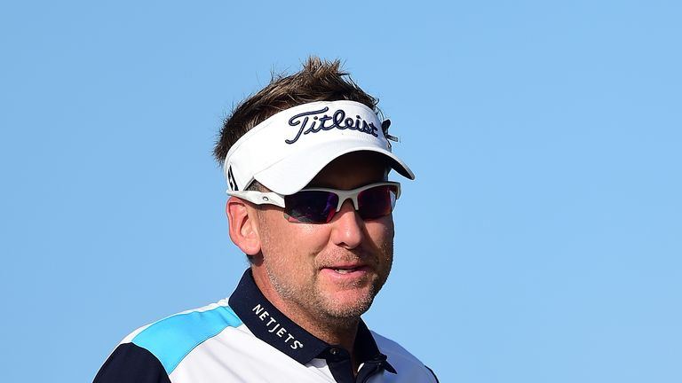 Ian Poulter has been struggling with an arthritic joint in his foot for two and a half years