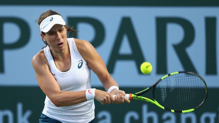 Johanna Konta can follow Heather Watson into the third round