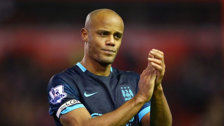 Vincent Kompany was chased by a host of Europe's top clubs while he was at Anderlecht