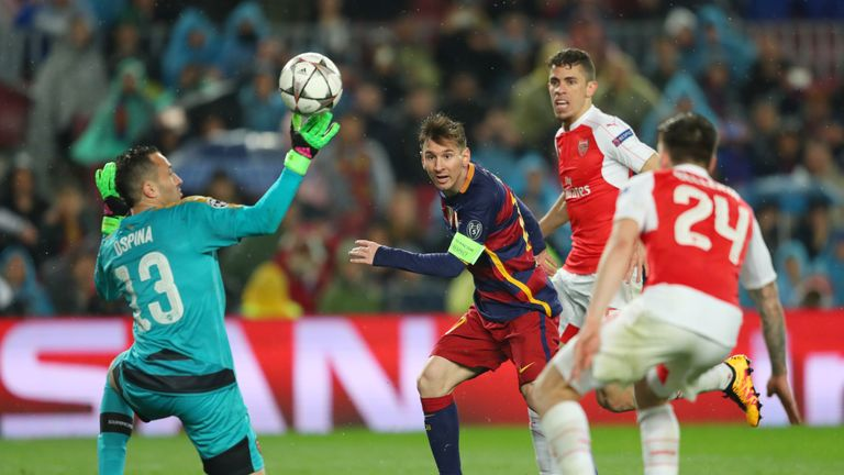 The Gunners tried to sign Lionel Messi alongside Pique and Fabregas