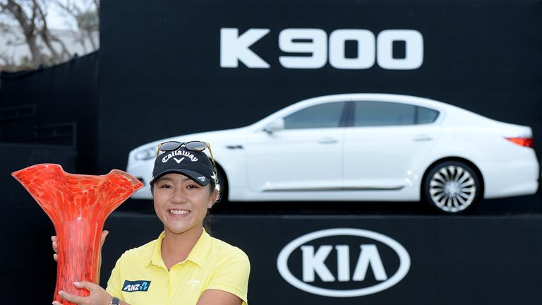 Image result for Lydia Ko wins kia