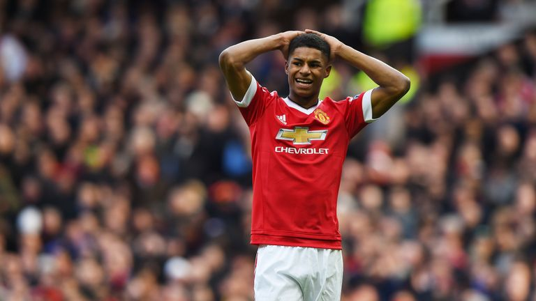 Marcus Rashford joined Fletcher Moss Rangers at the age of five