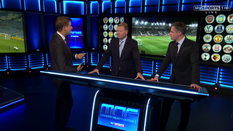 Ronald Koeman was a guest alongside Jamie Carragher on Monday Night Football