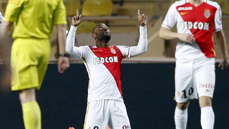 Vagner Love scored twice for Monaco