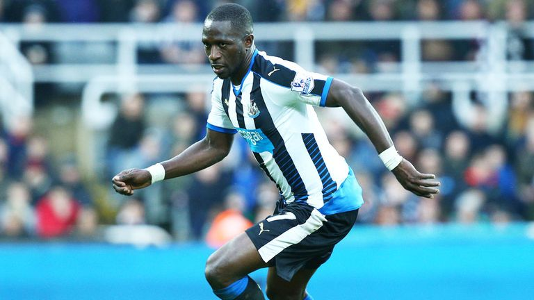 Moussa Sissoko: Once again absent for Newcastle