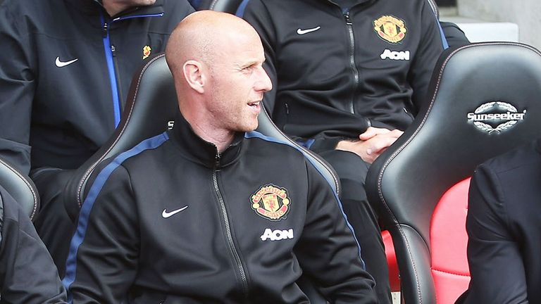 Nicky Butt, head of the Manchester United academy