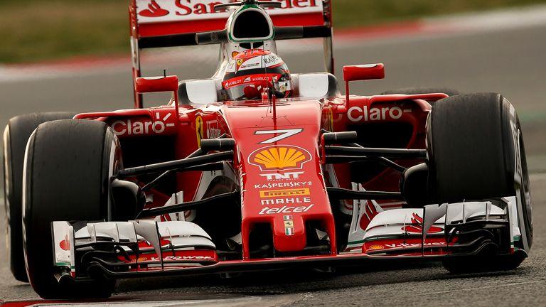 Equipe Ferrari de Formula 1 de 2016 by Sky Sports