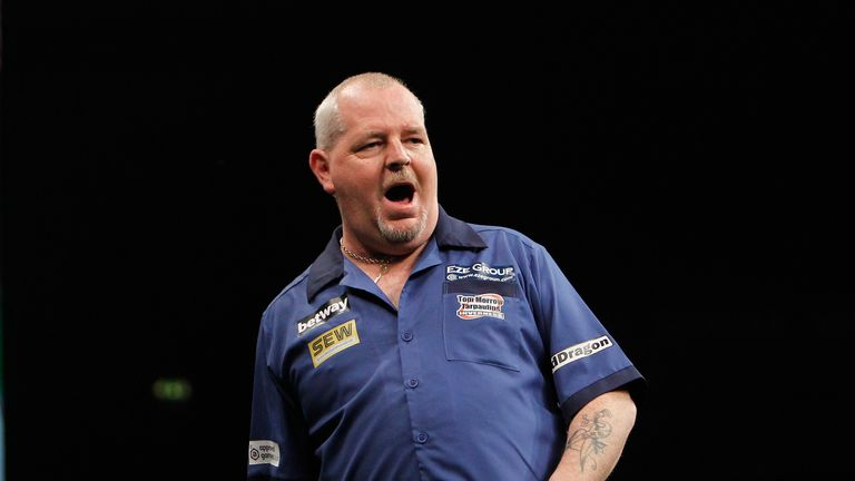 robert thornton darts