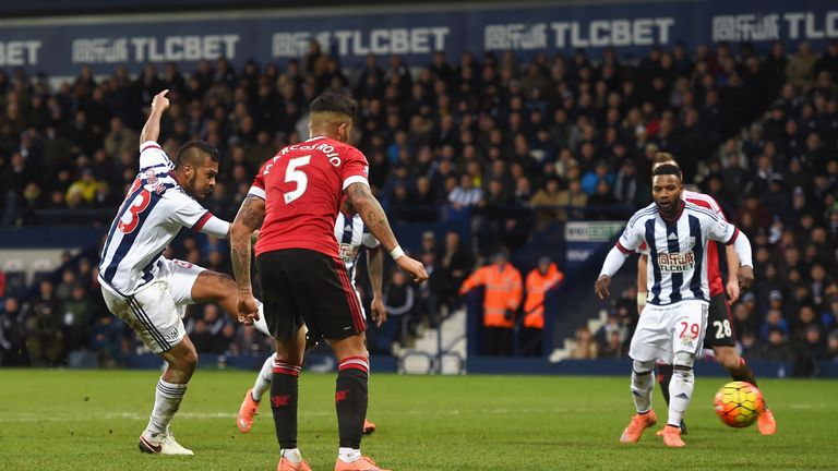 Salomon Rondon scored the winning goal against Manchester United on Sunday