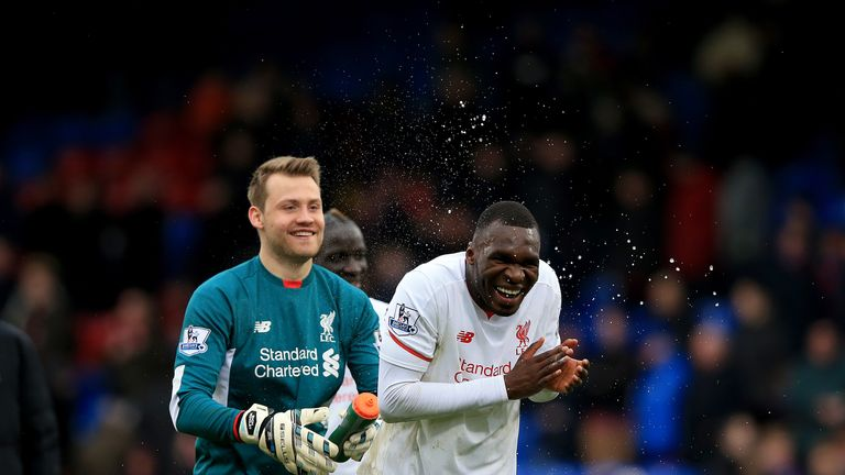 Simon Mignolet backs Benteke to bounce back at Anfield