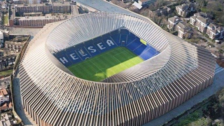 Chelsea want to redevelop Stamford Bridge to 60,000 in capacity