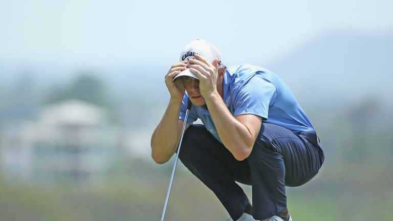 Pieters arrived late at Black Mountain after battling a virus