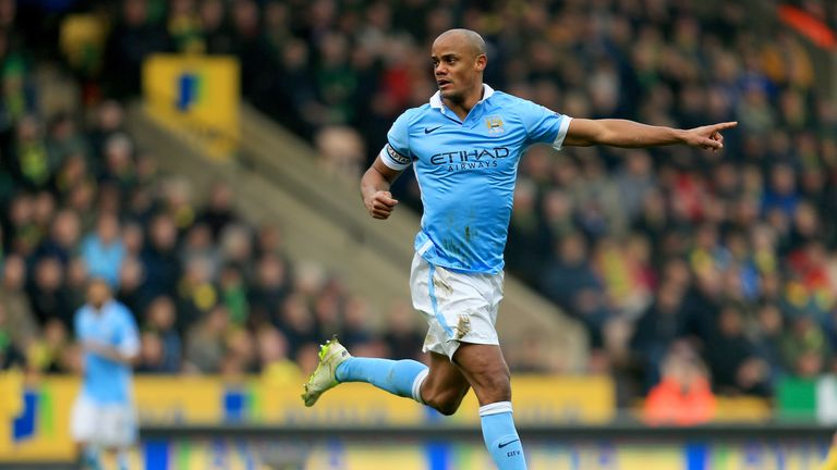 Vincent Kompany was back to his best form at Carrow Road