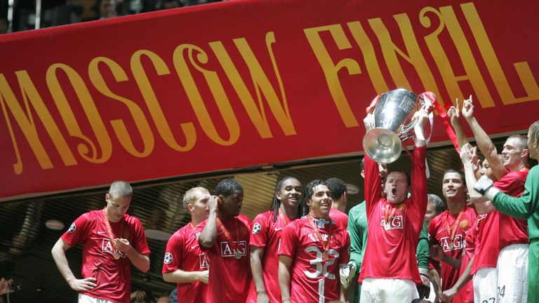 Manchester United won the competition in 2008 but failed to qualify in 2014