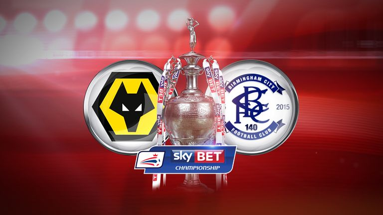 Wolves face Birmingham City in the Championship on Sunday, live on Sky Sports