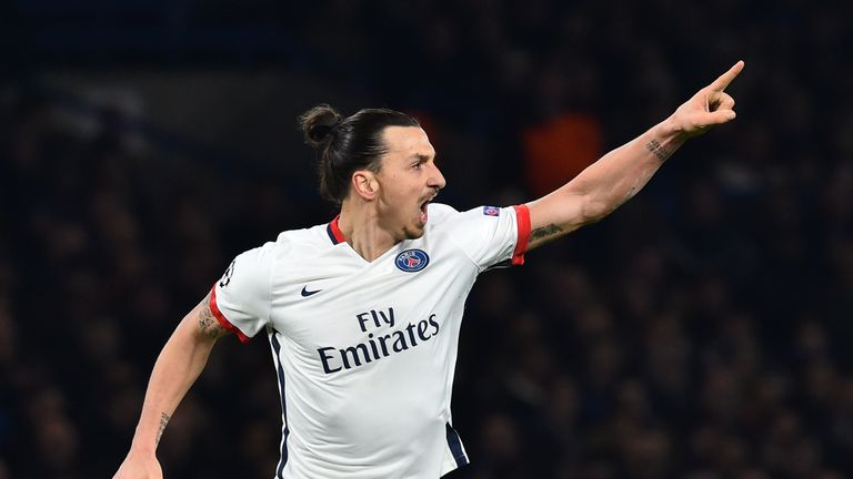 Ibrahimovic could move to England when his Paris Saint-Germain deal is up in the summer