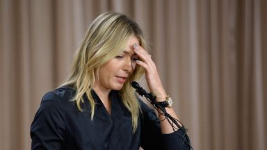 The decision on Maria Sharapova's appeal against her two-year ban will be announced early next month