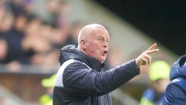 Peter Houston is leaving Falkirk with