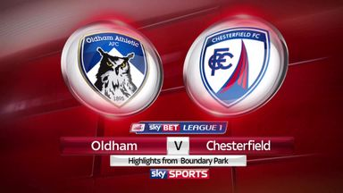 Oldham 1-0 Chesterfield