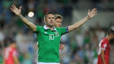 Robbie Keane's 145 appearances make him Ireland's most capped player