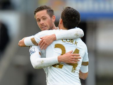 Gylfi Sigurdsson (l): Linked with a move away from Swansea