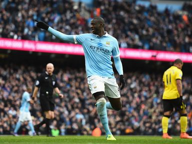 Yaya Toure: Missed City's last two games